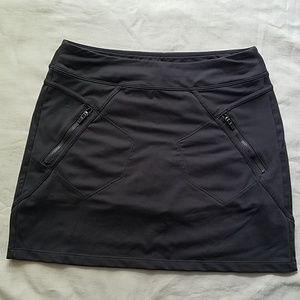 Womans gray Athleta athletic skirt size Small